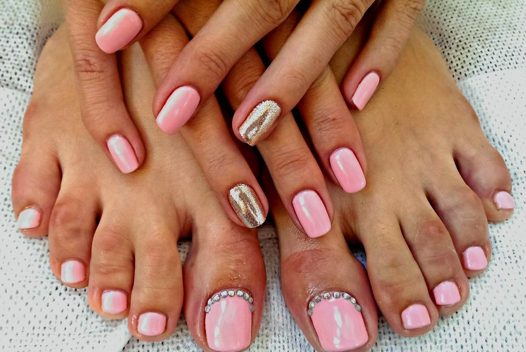 Педикюр, гель-лак/ Pedicure, Gel polish/ Tanya Godorozha -…